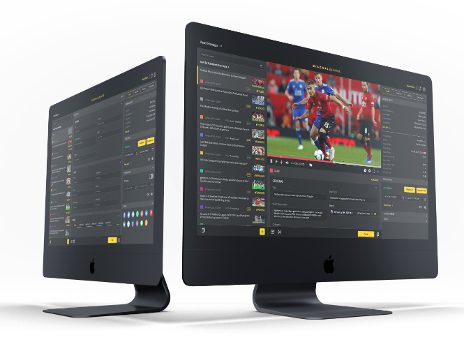 DIAGNAL ENAHNCE content management system for you and your OTT business